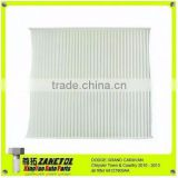 Car Auto Air Condition Filter Cabin Air Filter For Dodge Grand Caravan Chrysler Town & Country 68127809AA 68042866AA