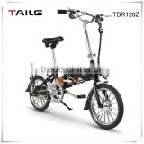 Chinese tailg electric bike with PAS relaxing aluminum electric bicycle for outdoor sports for sale TDR126Z