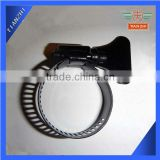 Black Color Butterfly Hose Clamp