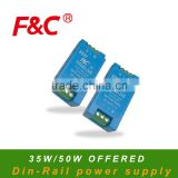 F&C 35W/50W FP series, Din-Rail Power Suplly, switch power supply, diferent output voltage for choice