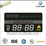 Colorfull 7 segment led clock display digital wall clock led display led digital clock display
