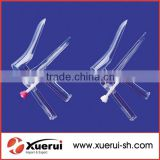 medical disposable vaginal speculum with side screw