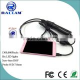waterproof micro usb otg smartphone borescope endoscope inspection camera
