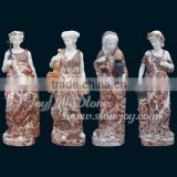 Garden Marble Four Seasons Statues
