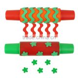 Bona Foam Paint Rollers Large Stamps Kids Art Craft Rolling Pins