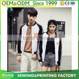 Korean Style Hoodies casual Hooded Couple Baseball Coat Sport Jacket