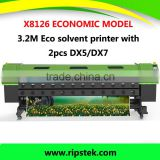 XENONS BRAND 3.2m Eco Solvent Printer with High Resolution 1440dpi for DX5 /DX7 head