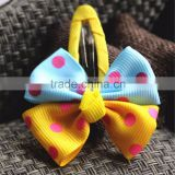 Wholesale Hairbow Baby Hair Accessories, Fancy Baby Girl's Hair Bow Clips
