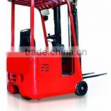 mini 1ton 3-wheel electric forklift truck forklift for sale forklift battery prices TKA10