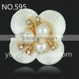 ABS resins flatback flower garment accessories and trims flower hot sale in Guangzhou-595
