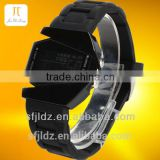 china supplier Digital Display Silicone Strap geneva led silicone watch