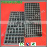 30 holes seed tray high quality black greenhouse plastic trays with low price