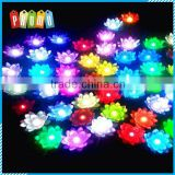 Wholesale Lotus Flower Wishing Lamp Floating Water Light
