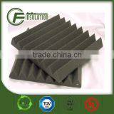 Fireproofing PU Foam Wedge Shape Acoustic Insulation Foam