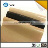 Cheap fiberglass cloth with teflon coating surface treatment for printing and heat-sealing machines