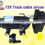 12v/24v truck cabin aircon compressor for Air Conditioning Systems for minibus midibus bus tractor offroad and military vehicles