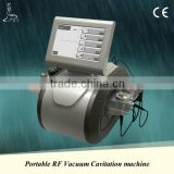 Ultrasound Therapy For Weight Loss Waist Slimming Machine Cavitation RF Vacuum Ultrasonic 4 In 1 5 Handles For Different Parts Ultrasound Cavitation For Cellulite