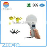 Long Range 134.2KHz Animal Tag RFID Microchip Reader