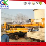 Road pavement piling machine Helical digger