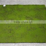 artificial flocking moss wall green moss carpet mat