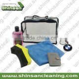 car cleaning set microfiber/car microfiber cleaning set