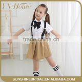 Wholesale school uniform design styles patterns, fashion school uniforms design