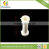 Wholesale White Empty Empty Plastic Wire Spool Bobbin Sewing Machine Thread Round Plastic spools
