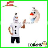 ALIBABA FROZEN OLAF PLUSH COSTUME FACE MASK FOR ADULTS