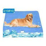 Blue Gel Dog Cooling Pet Mat for dogs / Cat , Waterproof Dog Cooling Pad