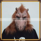 DX-MK-0765 Wholesale Latex full Face Masks party Brown Monster Mask