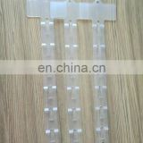 BSCI Factory Price Supermarket Plastic Display Clip Strip With Hook