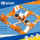 Outdoor Inflatable Floating Water Park Games / Waterpark Inflatables Supplier