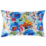 Fancy printed Silk Pillowcases Mulberry Pillow Case without Zipper for Hair and Skin Hypoallergenic