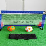 Folding metal soccer football goal with net