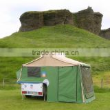 new style camping luxury canvas tent for trailer