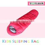 TOOTS Splicing kids Warm Outdoor Sleeping Bag with Hood 170x60x40cm