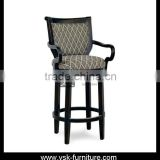 BC-107 Antique Furniture Soild Wood Bar Armchair Designs