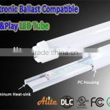 LED T8 LED Light ce 3000K/4000K/5000K/6000K/6500K ,100-277V,10W/15W/18W/20W/22W/25W/27W led t8 tube light