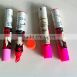 Aluminum tube for cosmetic packing
