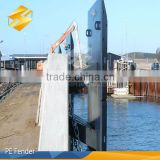 high quality plastic boat floating dock/Floating Polyethylene pad uhmwpe fender for marine applications