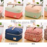 Fashion trend makeup bag for women korean cosmetic case