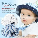 baby hat japanese wholesale products cute and high quality fashion trendy marine with ribbon