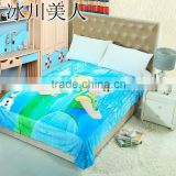 Flannel swaddles Flannel frozen blanket for kids with 150x200cm