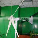 Small Horizontal Axis 600W Wind Turbine with 5 blades