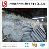 Round Tube/ Galvanized API 5L 20# Carbon Steel Pipe / Carbon Steel Tube with plastic cap
