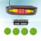 voice LED display parking guidance system
