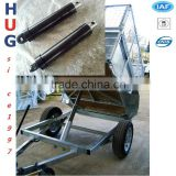 Multi stages dump truck series telescopic hydraulic cylinder/farm trailer