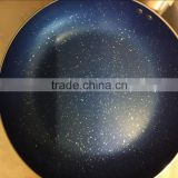 Aluminum non stick marble coating cookware stone coating fry pan