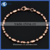 wholesale best selling yiwu in China shiny strech stainless steel infinity symbol bracelet