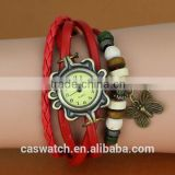 2015 Fashion Bracelet wrist watches Bangle watch with butterfly charms